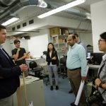 Lab Tour at the Energy Institute