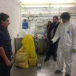 Do Converteru se vkládají pytle i obalové nádoby s infekčním odpadem