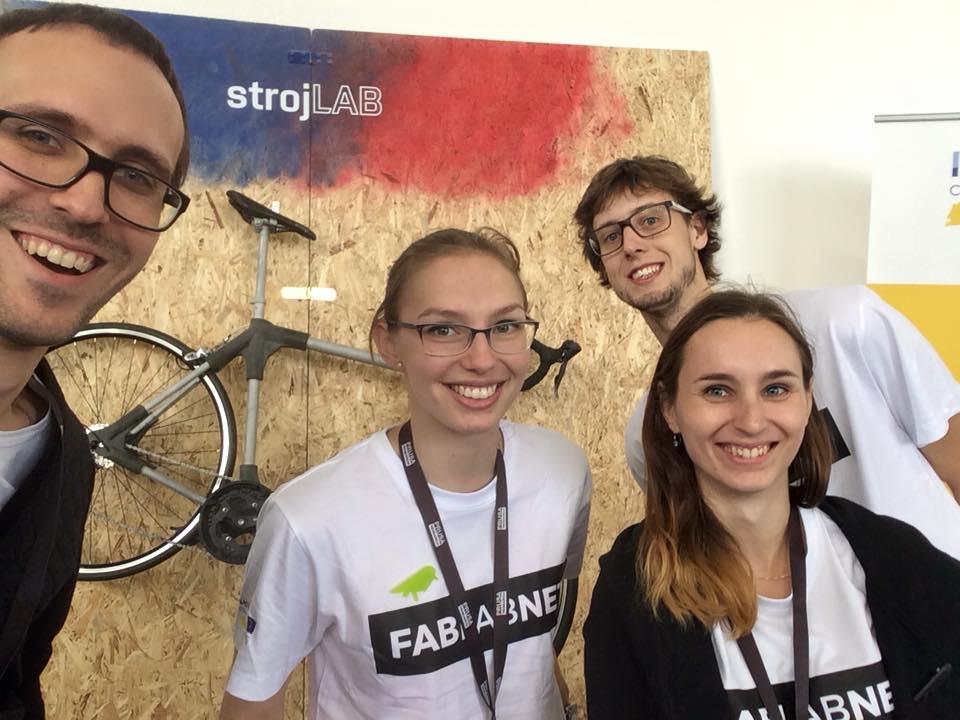 Maker Faire - zástupci brněnského strojLABu