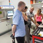 Exkurze v laboratořích strojLABu