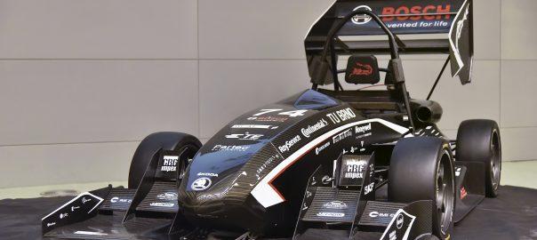 Dragon 7 z dílny TU Brno Racing
