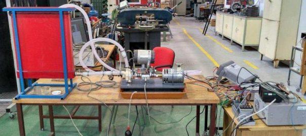Testování navrženého čerpadla (Archiv Ceny Edwards)