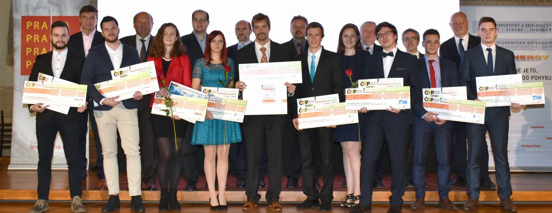 Ocenění studenti v soutěži ČEEP 2017